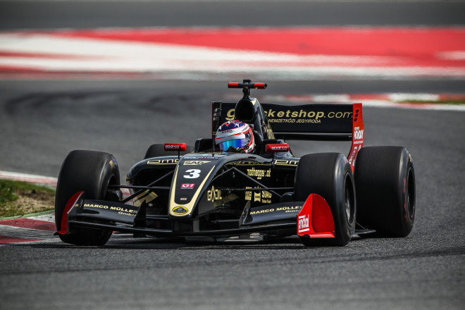 Renè Binder, Lotus, F3.5V8 Test Barcelona 2016-7042