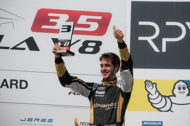 Rene Binder, Lotus, Paul Ricard Podium 2
